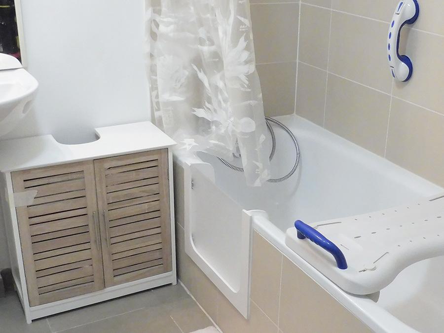 salle de bain handicapés alpes-maritimes